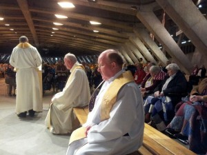 clergy at lourdes may 2014