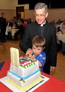 Sean Dwyer with Archbishop