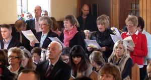 2014-11-16 Monageer Classroom Opening  Book Launch Choir (1)