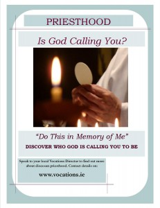 Vocations Sunday 2015 General Poster on vocations